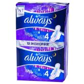 Միջադիր «Always Ultra Night N4» 12 հատ