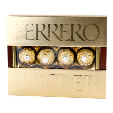 Շոկոլադե կոնֆետներ «Ferrero Rocher» 125գ