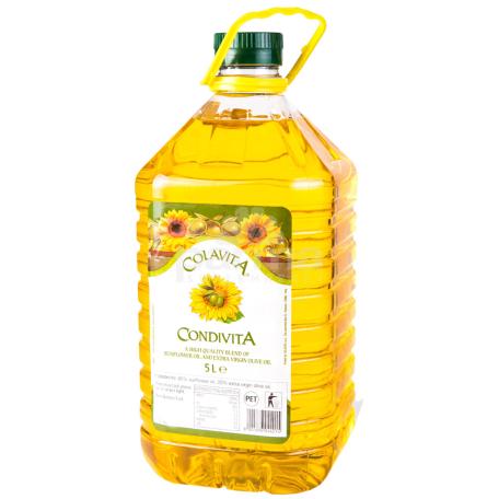 Ձեթ «Colavita» արևածաղիկ, ձիթապտուղ 5լ