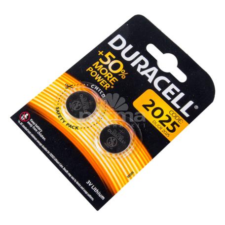 Մարտկոց «Duracell» DL2025