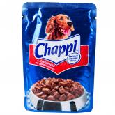Շան խոնավ կեր «Chappi» տավար 100գ