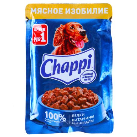 Շան խոնավ կեր «Chappi» 100գ