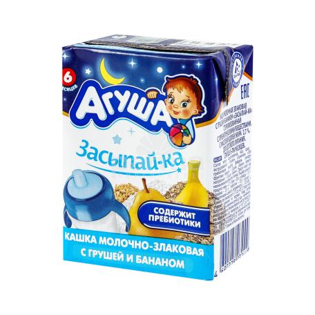 Շիլա ըմպելի «Агуша» հացահատիկ, տանձ, բանան 200մլ