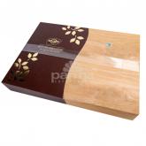 Շոկոլադե կոնֆետներ «Socado Praline» փայտե տուփ 350գ