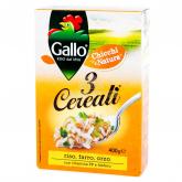 Խառնուրդ «Gallo» 3 տեսակ հացահատիկ 400գ