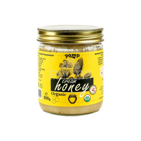 Կրեմ-մեղր «Փամփ» օրգանիկ 500գ