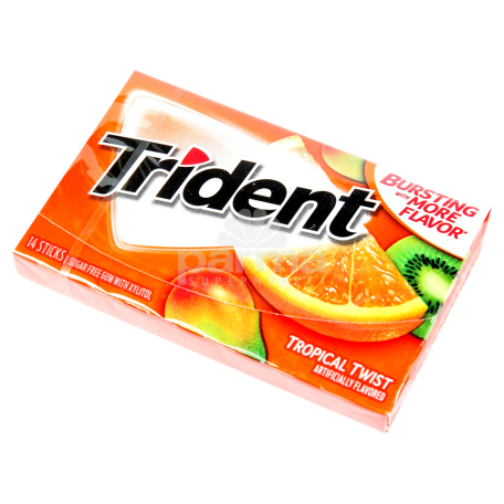 Մաստակ «Trident» տրոպիկ