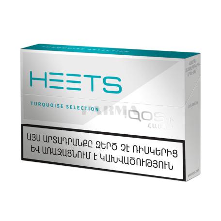 Տաքացվող ծխախոտի գլանակներ «Heets Turquoise Selection»