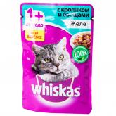 Կատվի խոնավ կեր «Whiskas» ճագար 85գ