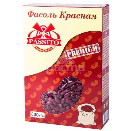 Լոբի «Պասիտո» կարմիր 800գ