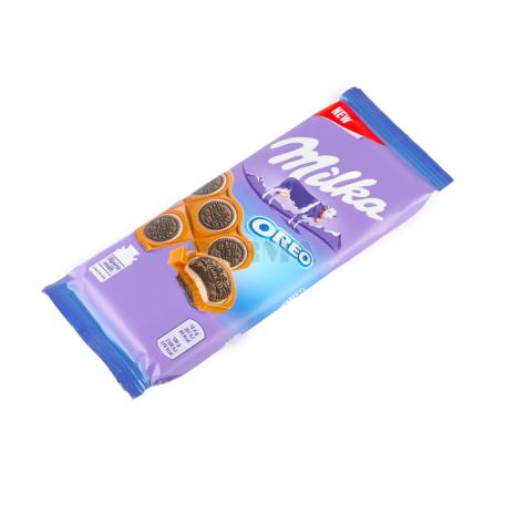 Շոկոլադե սալիկ «Milka Oreo Sandwich» 92գ
