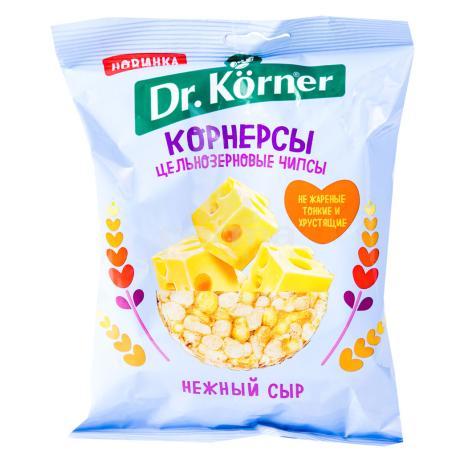 Չիպս «Dr. Korner» եգիպտացորեն, բրինձ, պանիր 50գ