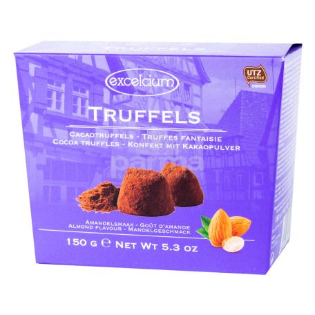 Շոկոլադե կոնֆետներ «Excelcium» կակաոյով, նշով 150գ