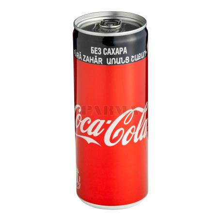 Զովացուցիչ ըմպելիք «Coca-Cola Zero» 250մլ