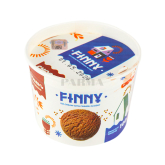 Պաղպաղակ «Ֆիննի» շոկոլադ 100գ