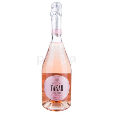 Գինի փրփրուն «Տակառ Extra Brut Rose» 750մլ