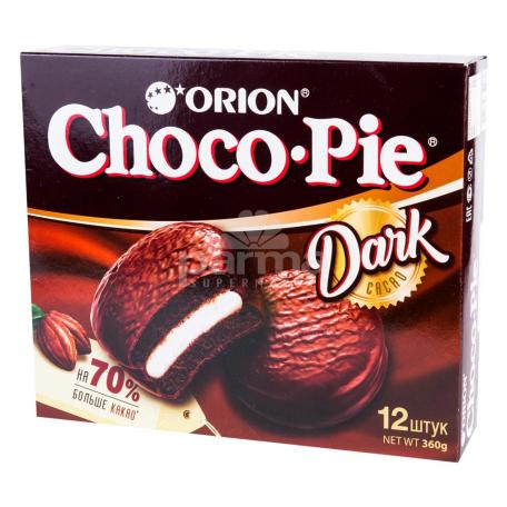 Թխվածքաբլիթ «Choco-Pie» մուգ 360գ
