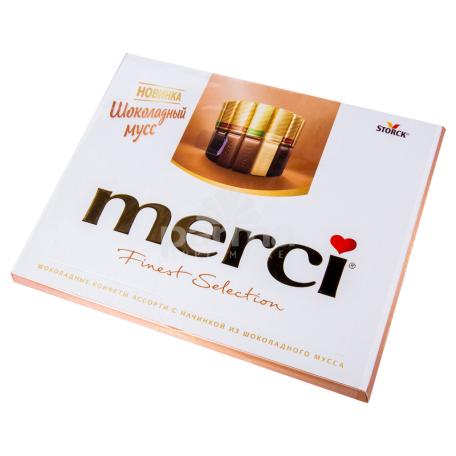 Շոկոլադե կոնֆետներ «Merci» 210գ