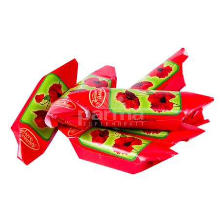 Կոնֆետներ «Красный октябрь» կարմիր կակաչ կգ