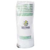 Մեկանգամյա օգտագործման բաժակներ «Eco Paper» կափարիչով 6 հատ