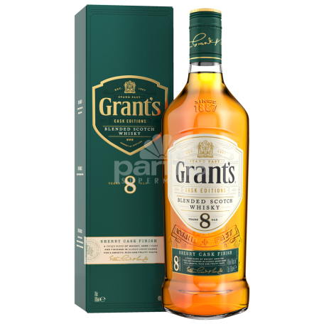 Վիսկի «Grant`s Sherry Cask Finish» 8տ 700մլ