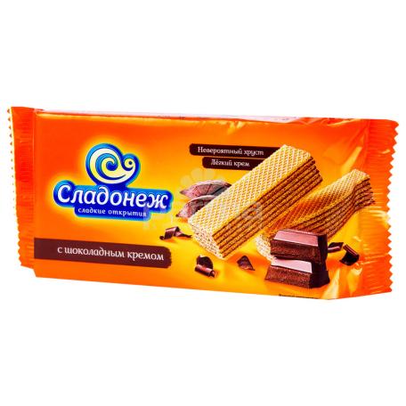 Վաֆլի «Сладонеж» շոկոլադ 180գ