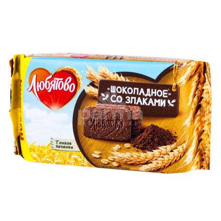 Թխվածքաբլիթ «Любятово» շոկոլադ 114գ