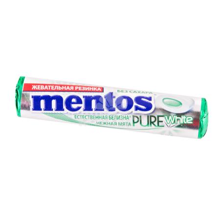Մաստակ «Mentos» նուրբ անանուխ 15.5գ