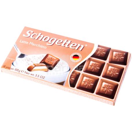 Շոկոլադե սալիկ «Schogetten Latte Macchiato» 100գ