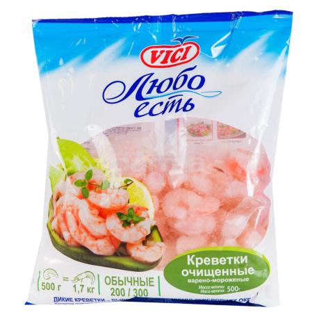 Մանր ծովախեցգետին «Vici» եփած սառեցված 200/300 500գ