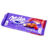 Սալիկ «Milka» ազնվամորի, պնդուկ 93գ