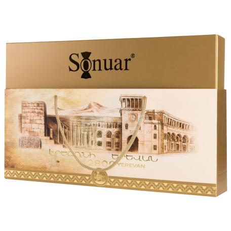 Շոկոլադե կոնֆետների հավաքածու «Sonuar Էրեբունի Երևան» 330գ