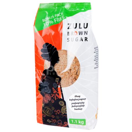 Շագանակագույն շաքարավազ «Zulu» 1.1կգ