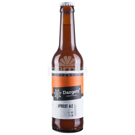 Գարեջուր «Dargett Apricot Ale» բաց 330մլ
