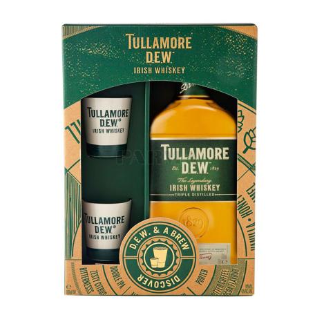 Վիսկի «Tullamore Dew Brew » + 2 բաժակ 750մլ