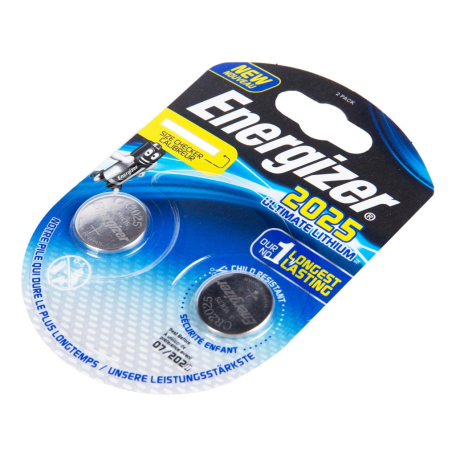 Մարտկոց «Energizer Lithum» CR2025, 3V 2 հատ