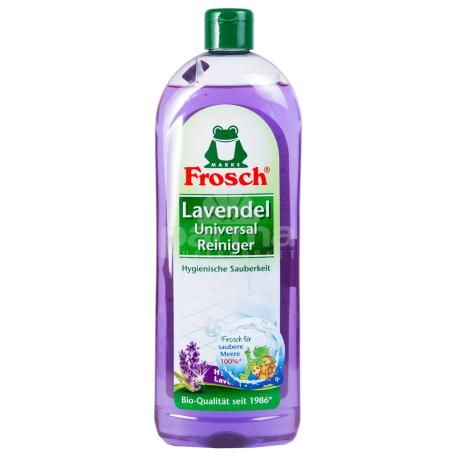 Հեղուկ մաքրող «Frosch» ունիվերսալ, լավանդա 750մլ