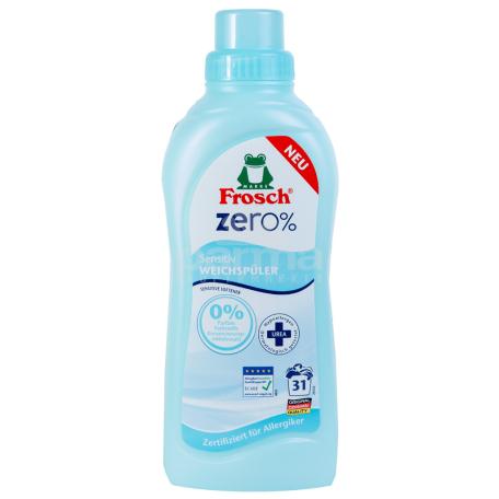 Լվացքի փափկեցնող միջոց «Frosch Zero Sensitiv» 750մլ