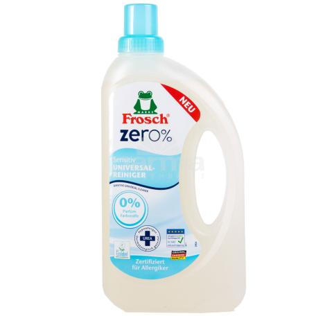 Հեղուկ մաքրող «Frosch Zero Sensitiv» ունիվերսալ 750մլ