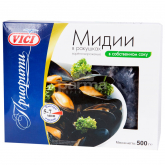 Միդիա «Vici» եփած սառեցված 500գ