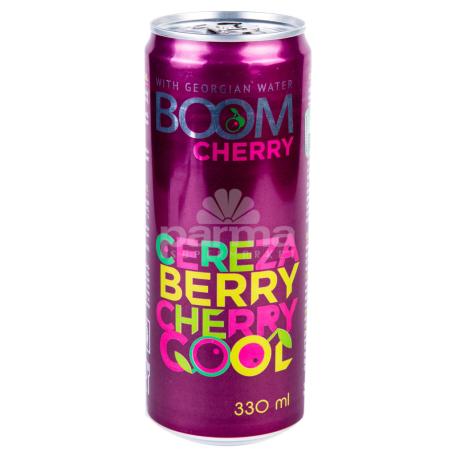 Զովացուցիչ ըմպելիք «Boom Cherry» 330մլ
