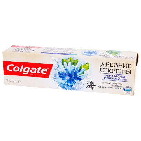 Ատամի մածուկ «Colgate» ծովային ջրիմուռ, աղ 75մլ