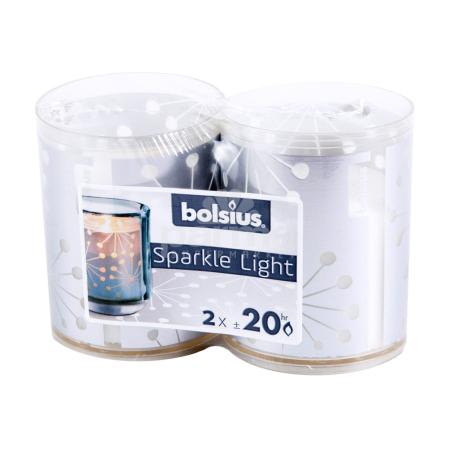 Մոմ «Bolsius Sparkle Light»