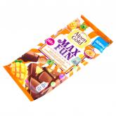 Շոկոլադե սալիկ «Alpen Gold Max Fun» արևադարձային մրգեր 160գ