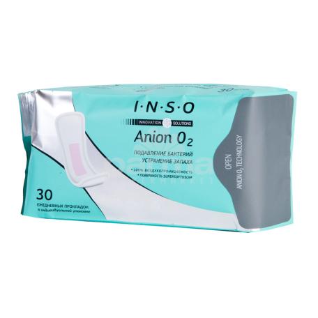Ամենօրյա միջադիրներ «INSO Anion O2»