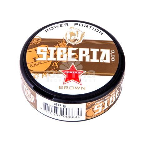 Սնուս «Siberia Brown» 20գ