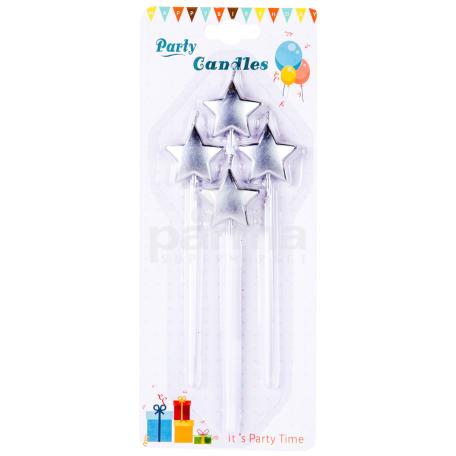 Մոմ «Party Candles» 4 հատ