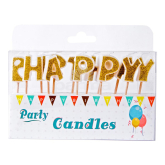 Մոմ «Party Candles Happy Birthday» 13 հատ