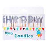 Մոմ «Party Candles Happy Birthday» 13 հատ