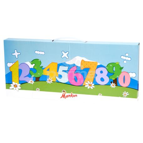 Փափուկ խաղալիք «Մանկան» մաթեմատիկա
